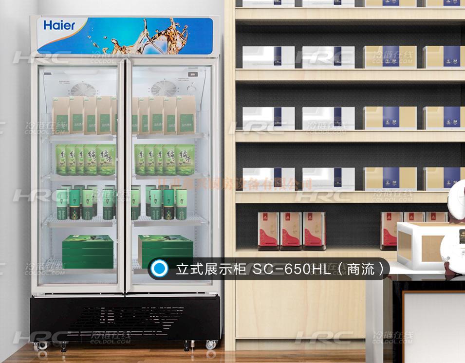 海尔商用冰柜